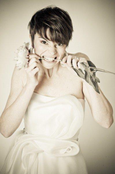 shooting fotografico abiti sposa