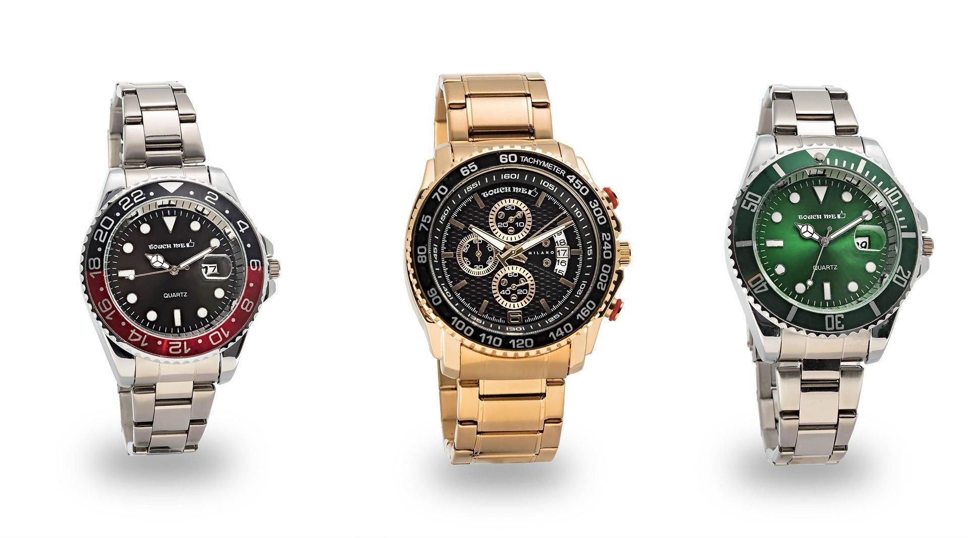 fotografia orologi per e-commerce